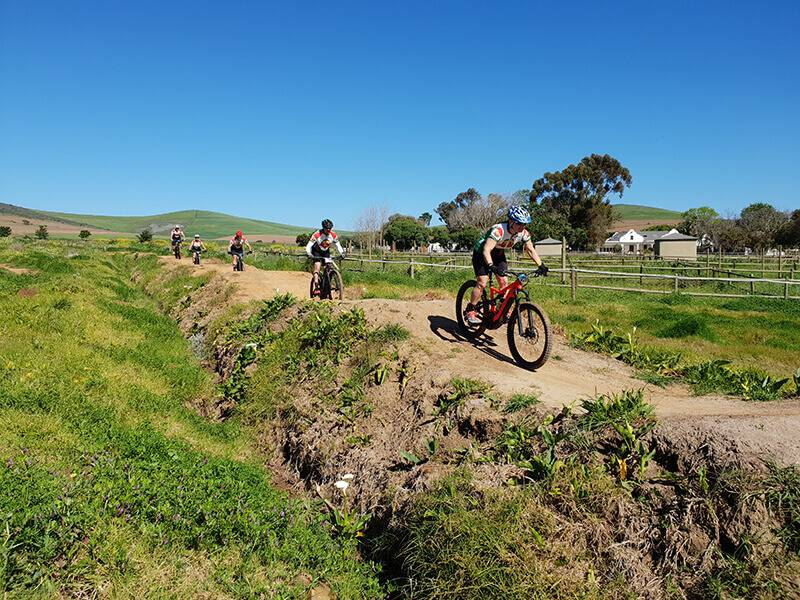 Berms and Bumps E-Bike