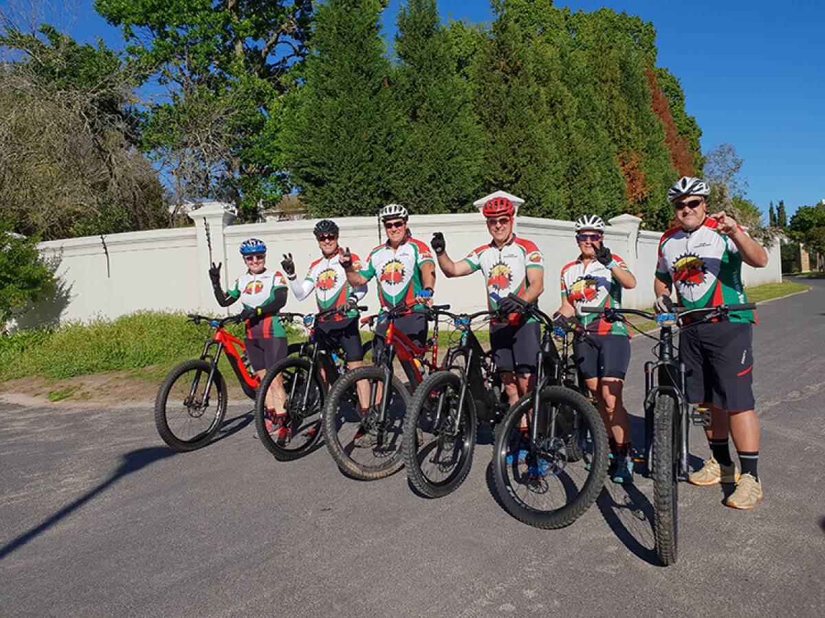 Bespoke E-Bike Tours, Team Building and Wine Tasting